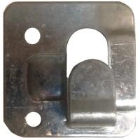 Кляммер завершающий цинк 1 мм для керамогранита