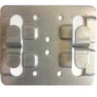Кляммер рядовой цинк 1 мм для керамогранита