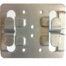 Кляммер рядовой оцинкованный беззазорный 1.2 мм