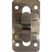 Кляммер угловой цинк 1 мм для керамогранита