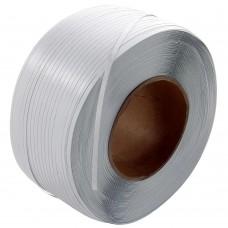 Полипропиленовая лента 12х0,7х2000м белая