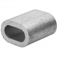 Зажим для троса алюминиевый din 3093 4 мм. (75 шт)