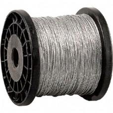Трос стальной цинк DIN 3055 М10 (100м)
