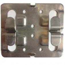 Кляммер рядовой нержавеющий беззазорный 1.2 мм.
