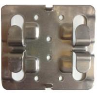 Кляммер рядовой нерж. 1 мм. для керамогранита AISI 430