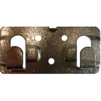 Кляммер стартовый цинк 1 мм для керамогранита