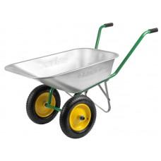 Тачка садовая 2 колеса GRINDA 80 л. 100 кг
