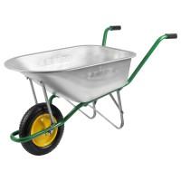 Тачка садово-строительная GRINDA 90 л. 100 кг.