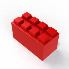 Блок полноразмерный (Большой) 30,48 x 15,24 x 15,24