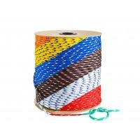 Веревка плетеная Полипропилен цветная/катушка 14мм 100м