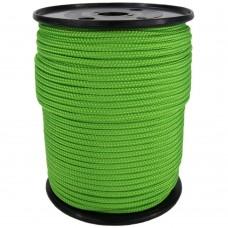 Веревка плетеная Полипропилен синяя, красная, зеленая /катушка 6мм 200м