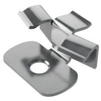 Кляймер нержавеющий 7-8мм для алюминиевой лаги HILST FIX prof 3D alum