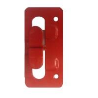 Кляммер угловой (концевой) нерж. 1 мм.  AISI 430 окрашеный RAL