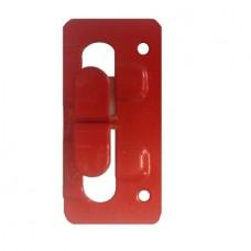 Кляммер угловой (концевой) нерж. 1.2 мм.  AISI 430 окрашеный RAL