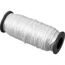 Шнур капроновый плетеный 1.5мм, 100м катушка, 45кгс