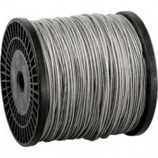 Трос в оплетке ПВХ DIN 3055 М8/10 (100м)