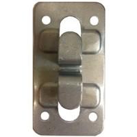 Кляммер угловой (концевой) нерж. 1.2 мм. для керамогранита  AISI 430