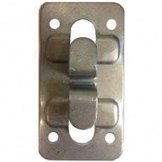 Кляммер угловой (концевой) нерж. немагнит. 1 мм. для керамогранита  AISI 201