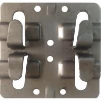 Кляммер рядовой нерж. 1.4 мм. для керамогранита AISI 201 до 10 мм